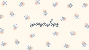 Sponsorships banner